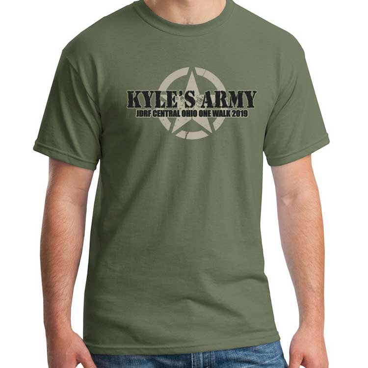Support Kyle JDRF Shirt